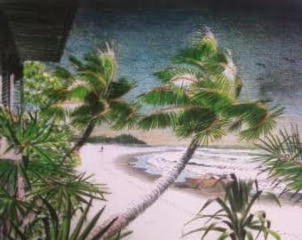 The Windblown Palms