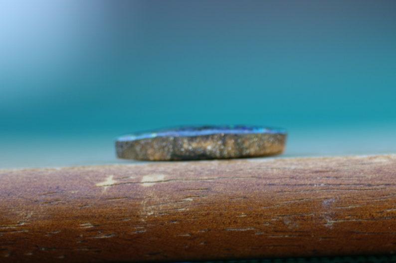 Unique 11ct freeform Solid Australian Boulder Opal 948 Please READ ENTIRE DESCRIPTION Carefully