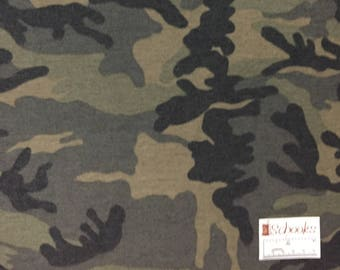 Soft Sage Camo - French Terry