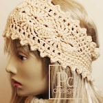 CROCHET Pattern / Picots Shells Headband / Crochet Ear warmer / Crochet Headband / Crochet Bun Hat / Crochet Head Wrap / headwrap / P109 /