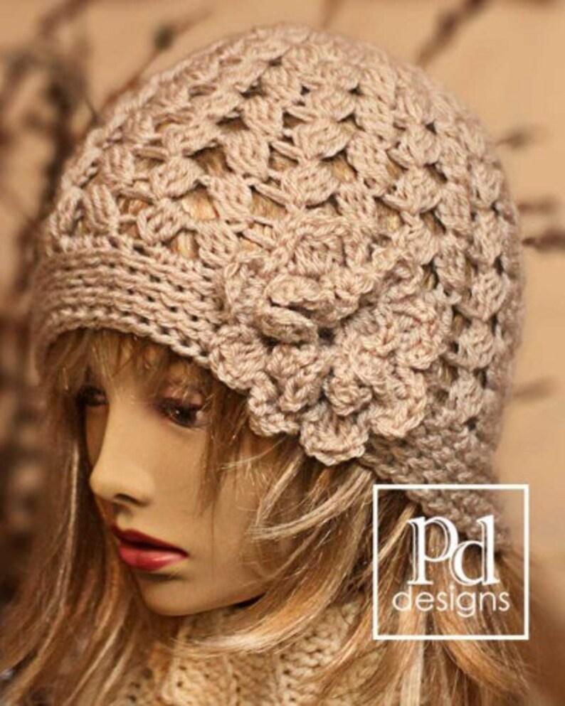 CROCHET Pattern / 4 Seasons beanie / Crochet Hat Pattern / image 0