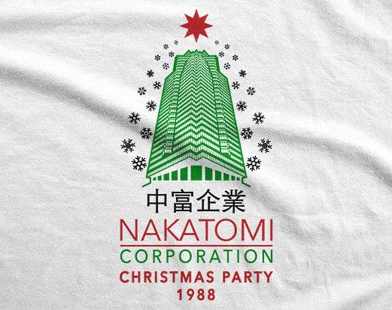 Nakatomi Plaza Christmas Party 1988 Die Hard Inspired Key Tag