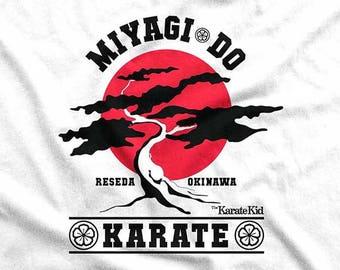 Karate Kid - Miyagi Do Red Sun T-Shirt