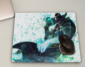 Twisted Fate Mouse Pad, League of Legends Mousepad, League of Legends,League of Legends Art,Game Mouse pad,Play mat,Anime Gifts, Geek Gadget