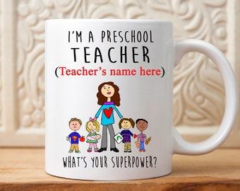 Teacher Mug, Teacher gift, Teacher Appreciation gift, Preschool teacher, Gift for Teacher, kindergarten Teacher gift, Mug for teacher, gift