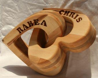 Hochzeitsgeschenk Holz Etsy