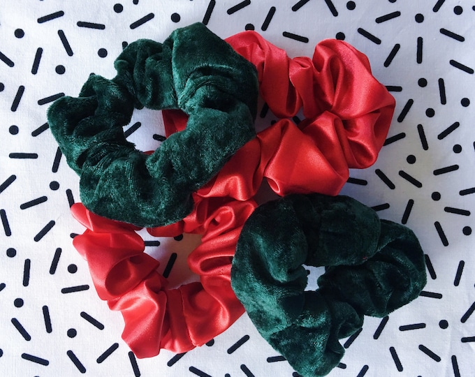 Satin & Velvet Scrunchies