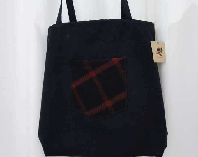 Faux Tote Backpack
