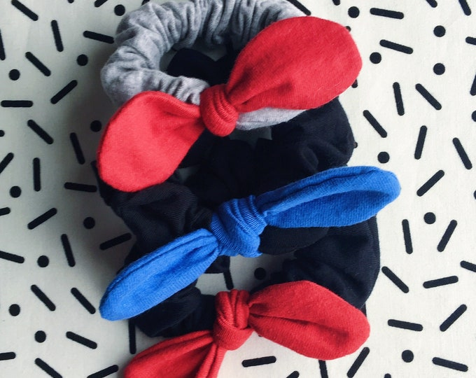 Minnie Jersey Scrunchie