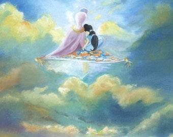 Aladdin & Jasmine Disney Print