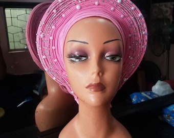 SALE/ Ready to Ship/ Auto Gele/ Swipe Left for more listings/ Final Sale