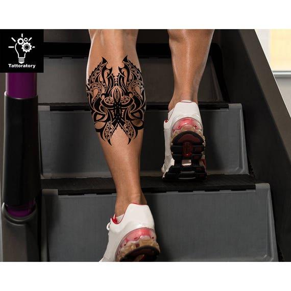 Brazo Tribales Tatuaje Temporal Del Tatuaje Tatuajes Tribales Etsy