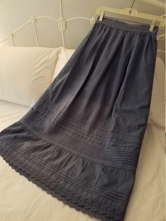 Antique cotton petticoat