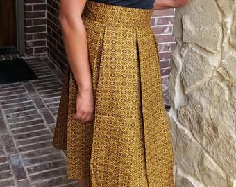 Short Ankara Skirt
