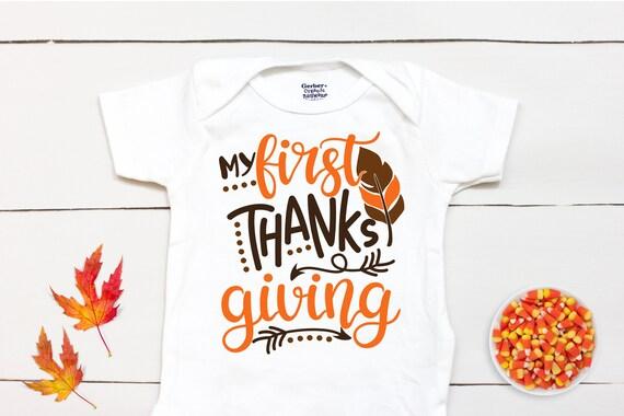 Thanksgiving Onesie First Thanksgiving Onesie Funny Thanksgiving Onesie Thanksgiving Onesie Boy First Thanksgiving Onesie Boy 