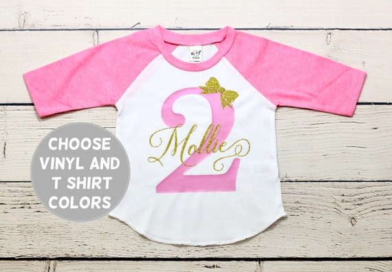 Personalized Birthday Shirt Second Two