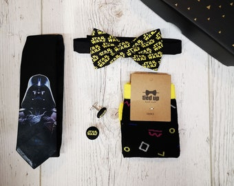 Dark Side Gift Box, Darth Vader, Star Wars, Tie, Bow Tie, Cufflinks, Socks