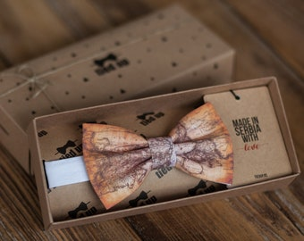 4626943bfc76 World map Bow Tie, Earth map bowtie,Rustic world map .Wedding Bow tie. Bow  tie,Bowties,Bow tie for men,Bow tie for women,Bow tie for kids.
