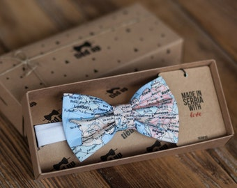 Europe Map Bow Tie, Earth map bowtie, Bowtie geographic.Wedding Bow tie. Bow tie,Bowties,Bow tie for men,Bow tie for women,Bow tie for kids.