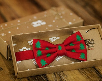 Christmas tree,Christmas pattern, Christmas gifts,Christmas bow ties, New Year's gift, Bow tie for men,Bow tie for women,Bow tie for kids.