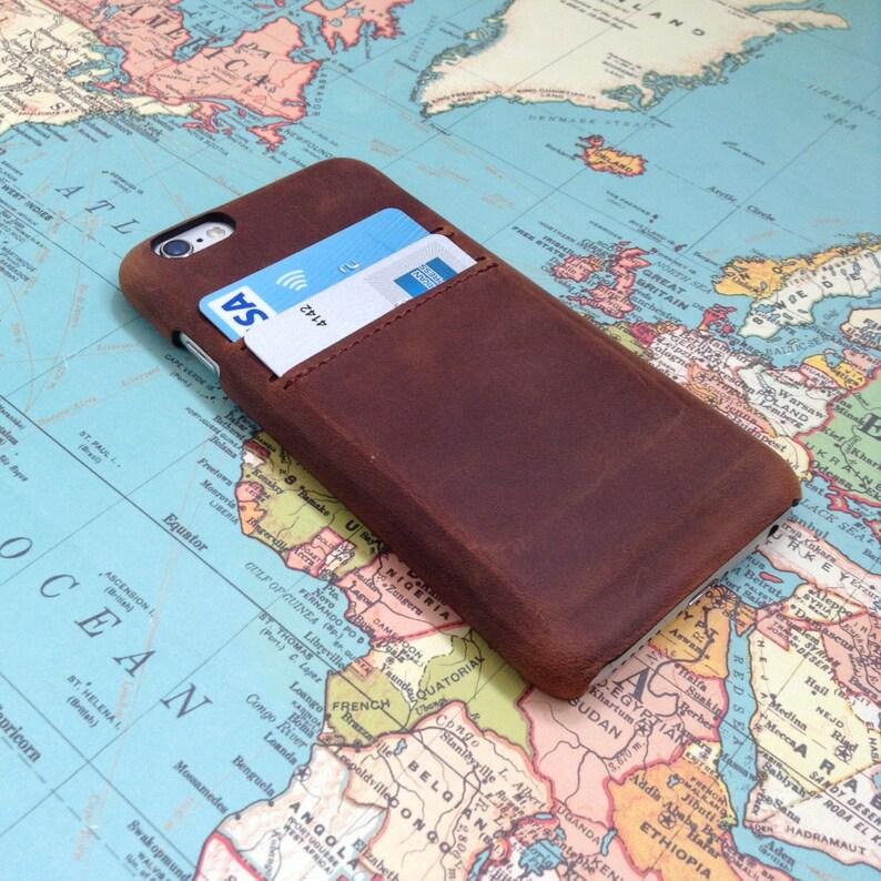 75c48fcb3f458 Leather iPhone 8 Case Leather iPhone 6 plus Case iPhone 8 Plus