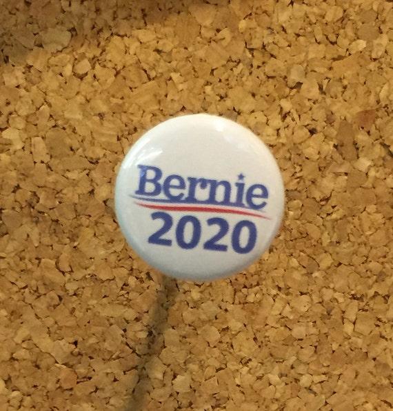 bernie sanders 2020 presidential 1 pin magnet etsy