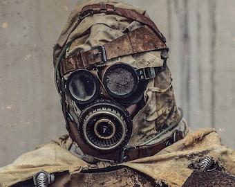 Desert Nomad Mask (Post Apocalyptic Wasteland Raider )