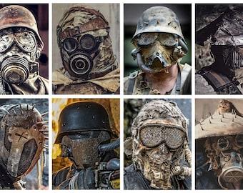 Post Apocalyptic Wasteland  Helmet or Mask