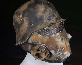 Supersoldier Mask (Post Apocalyptic Wasteland Wolfenstein)