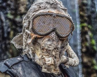 Dust Phantom Mask (Post Apocalyptic Wasteland Raider )