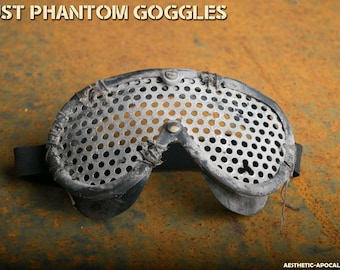 Post Apocalyptic Goggles for larp, nerf and show