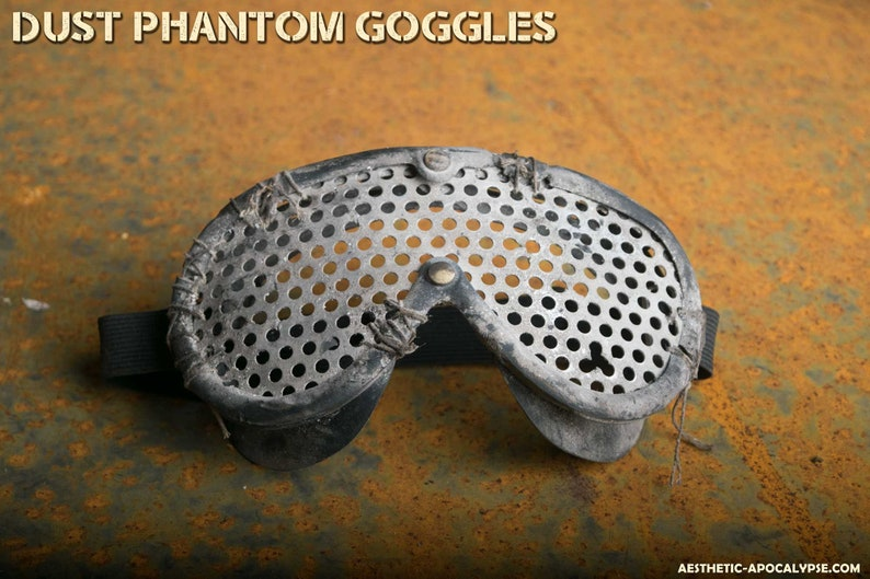 Post Apocalyptic Goggles for larp nerf and show image 0