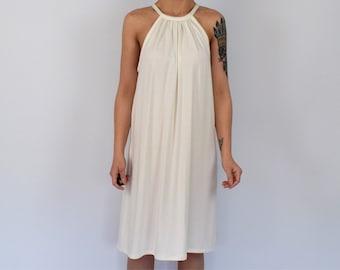 4f0918d454fc8e Romige jersey jurk