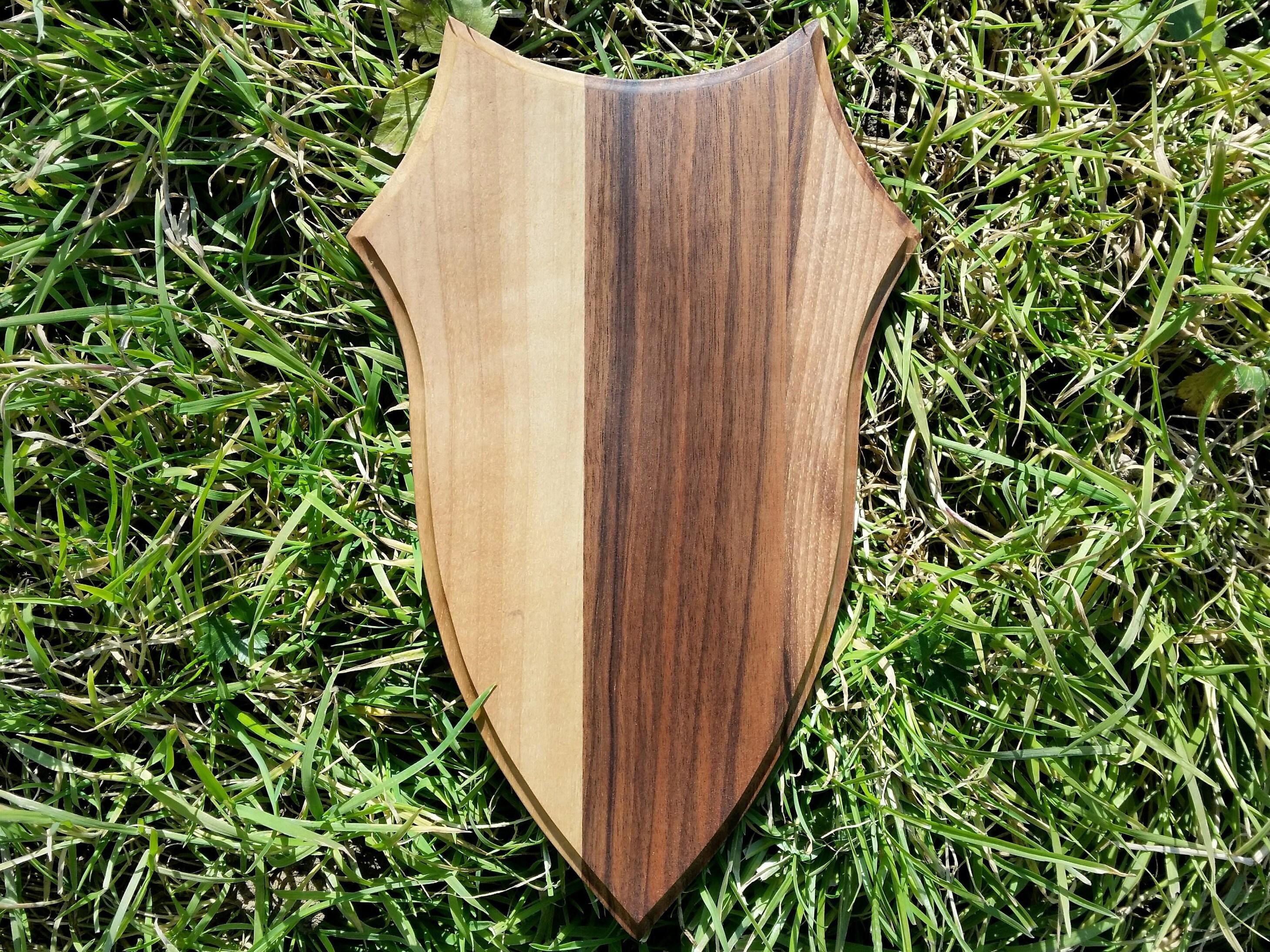 Wooden base shield taxidermy trophy Mounting Plaque OAK  WALNUT 2S