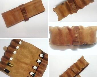 Ethiopian Leather Essential Oil Case