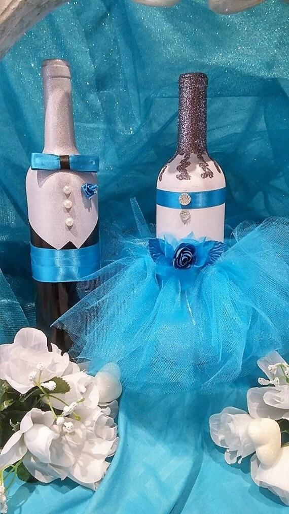 Wedding Wine Bottles Quinceanera Gift Prom Gift Decorative Etsy