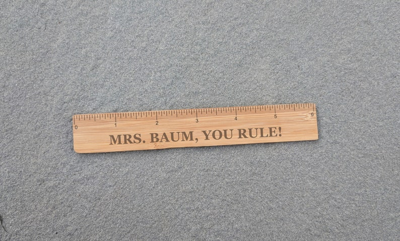 You Rule Bamboo Ruler | Beanstalk Mums