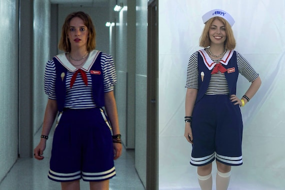 Robin Stranger Things Season 3 Costume Cosplay Scoops Ahoy Etsy