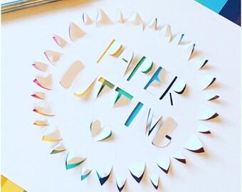 Bespoke Papercuts