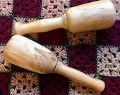Handmade Wood Sock Darner