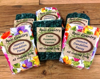 Hand Crafted Organic Herbal Soaps