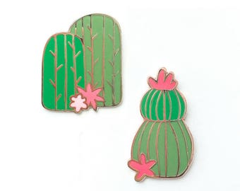 Pricks - Cactus Pin Set