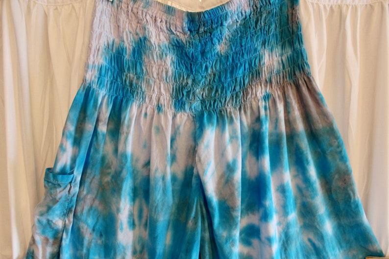 Hippie Pants Hippy Tie Dye Pants Harem Pants with Pocket Yoga Pants Custom Made One of a Kind Harem Pants Tie Dye Harem Pants