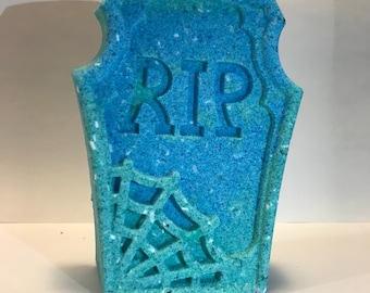 RIP Tombstone | Tombstone Bath Bomb | Bath Bombs | Unique Bath Bombs | Random Assortment | Gifts for Her | Stocking Stuffers