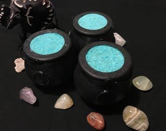 Cauldron Bath Bomb | Witch Craft | Crystals | Bath Fizzy | Halloween | Bath Bombs | Gifts | Christmas Gifts | Bath Fun | Children | Darkness