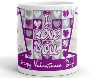 I Love You, Photo Mugs, Love You, I Love, Photo Coffee Mugs, Valentines Gifts, Personalized Coffee Mugs, Love Mugs, Photo Love, Coffee Mugs