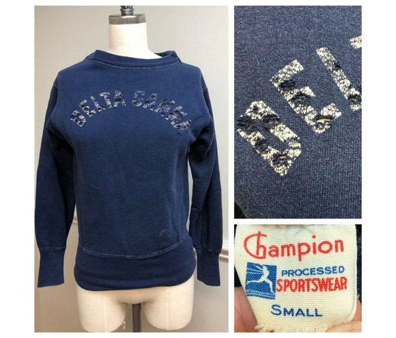 Vintage 1950s Champion Running Man Sweatshirt, Del