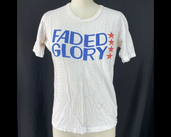 Vintage 1970s FADED GLORY T-shirt, Size Small