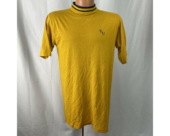 Vintage 1960s VU T-Shirt Vanderbilt? Velvet Underg