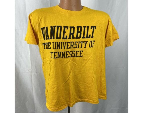 Vintage 1980s Vanderbilt T-shirt, THE University O